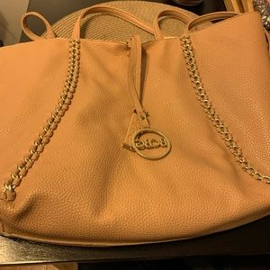 BCBG tote with matching crossbody bag